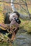 Fotógrafo en una secuencia Fotografía de archivo libre de regalías