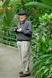 Fotógrafo feliz Fotografía de archivo libre de regalías