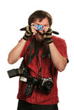 Fotógrafo ideal Imagens de Stock Royalty Free