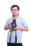 Fotógrafo joven Imágenes de archivo libres de regalías