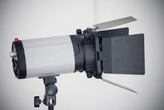 Fotógrafo Lighting Imagen de archivo