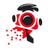Fotógrafo Logo Imagen de archivo