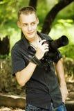 Fotógrafo novo Foto de Stock Royalty Free