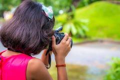 Fotógrafo novo Imagem de Stock