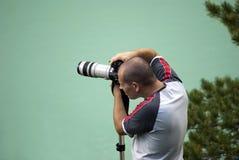 Fotógrafo profissional Imagens de Stock Royalty Free