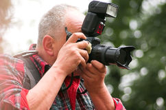 Fotógrafo profissional foto de stock