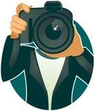 Fotógrafo (vetor) Imagem de Stock