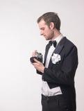 Fotógrafo y cámara Fotografía de archivo libre de regalías