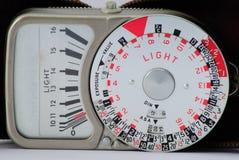 Fotómetro clásico (los años 60) Imágenes de archivo libres de regalías