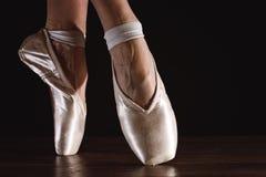 Fot av dansballerina Arkivbilder