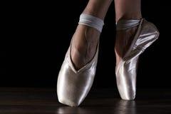 Fot av dansballerina Royaltyfri Foto
