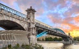 Fot- bro för Pushkinsky Andreevsky — Arkivfoton