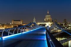 Fot- bro London England Royaltyfri Fotografi
