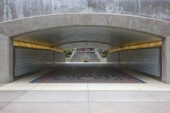 Fot- gångtunnel Royaltyfri Bild