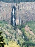 600 fot - höga Chama Falls Arkivfoton
