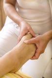 Fot massage Arkivfoto