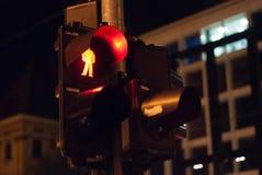 Fot- trafikljus Royaltyfria Bilder