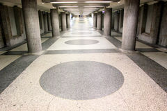 fot- tunnel Royaltyfri Fotografi
