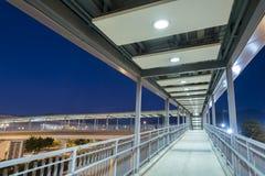 Fot- Walkway Arkivfoto