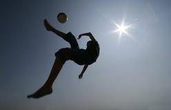 Fotball Stock Fotografie