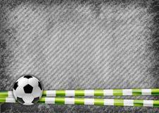 Fotball background Royalty Free Stock Photography