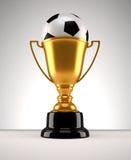 Fotball trophy Royalty Free Stock Image