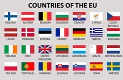FotbolEuropean union royaltyfri bild