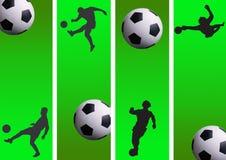 fotboll 08 royaltyfri illustrationer