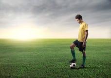 fotboll Royaltyfria Bilder