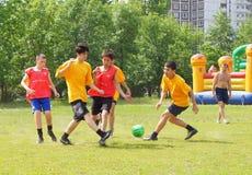 fotboll royaltyfri fotografi
