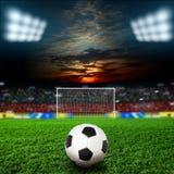 fotboll Royaltyfria Foton