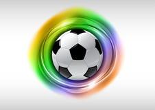 fotboll vektor illustrationer