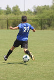 fotboll Fotografering för Bildbyråer