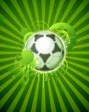 fotboll för 05 boll Arkivbild