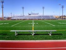 fotboll för 2 fält Royaltyfria Bilder