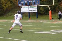 Fotboll för högskolaNCAA DIV III Royaltyfria Foton