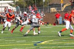 Fotboll för högskolaNCAA DIV III Royaltyfria Bilder