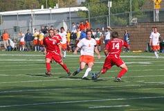 fotboll för manncaa s Fotografering för Bildbyråer