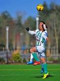 fotboll för mens för bollklubbaöga Fotografering för Bildbyråer