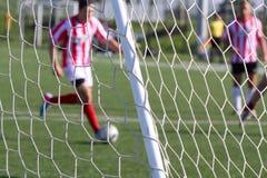 Fotboll (fotboll) Arkivfoto
