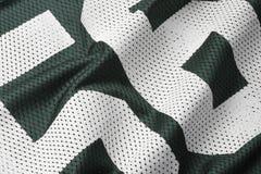 fotboll gröna jersey Arkivbilder