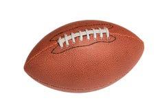 fotboll isolerat läder Arkivfoton