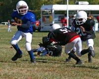 fotboll kissar wee Royaltyfri Foto