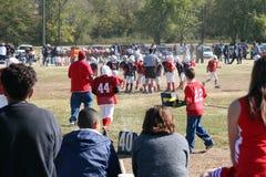 fotboll kissar wee Royaltyfri Bild