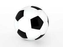 Fotboll klumpa ihop sig Royaltyfri Foto