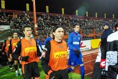 fotboll l5At spelrum s Royaltyfria Bilder