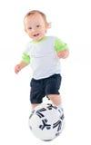 fotboll little spelare Royaltyfri Foto
