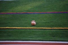 Fotboll och sidlinjer Royaltyfri Bild