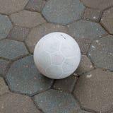 Fotboll på vandringsledet Arkivbilder