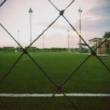 Fotboll parkerar Royaltyfria Foton